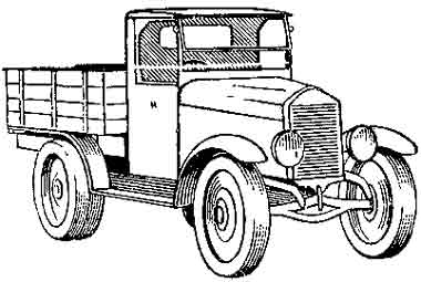 Автомобиль — АМО-Ф15